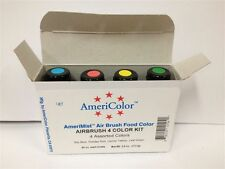 AmeriMist Air Brush Food Colour 4 Pack