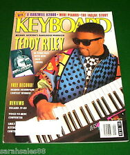 1992 Michael Jackson Producer Teddy Riley, Roland JV-80 Keyboard Magazine Review