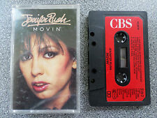 JENNIFER RUSH - MOVIN - ALBUM - CASSETTE TAPE