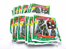 24 PACKS GIANT SILVER STUFF-AN-ORNAMENTS OUTDOOR CHRISTMAS TREE DECORATIONS 22""