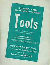 Woodworking Tools Vintage 1969 Catalog Woodcraft Supply Corp Woburn MA