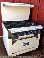 """NEW 36"""" Range & Oven Base Royal Range #1187 Commercial Restaurant Stove Burners"""
