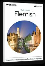 Eurotalk Talk Now Flemish for Beginners - Download option and a CD ROM