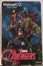 WalMart Marvel's Avengers Iron Man Thor Hulk Black Widow 2015 Gift Card FD-48843