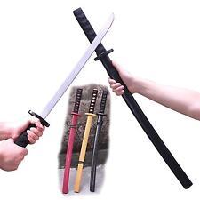 28''Japanese Samurai Katana Wooden Practice Sword Child's Toy Kendo for Kungfu