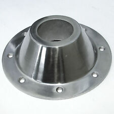 POLISHED ALLOY ISLAND TABLE CONICAL SUPPORT 190mm for 57mm LEG MOTORHOME CARAVAN