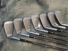 Vintage Mizuno Quad 1-9PW Set of Irons *Missing 8 Golf Clubs Graphite Shafts VTG