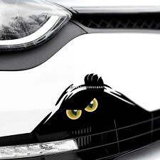 Monster chat yeux Peeper Drôle effrayant Voiture, Van, Pare-chocs Jdm Dub Vinyl Decal Sticker