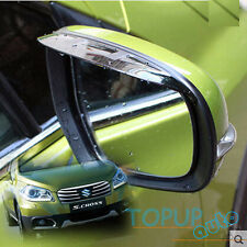FIT FOR 2014- SUZUKI S-CROSS SX4 SIDE DOOR MIRROR RAIN GUARD VISOR SHADE SHIELD