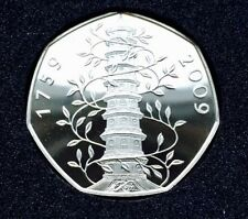 2009 Kew Gardens 50p Proof Coin Pagoda RARE FIFTY PENCE (MINT!)