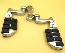 "Chrome 1"" Large Footpegs For Honda GoldWing VTX1300 Shadow Valkyrie Triumph"