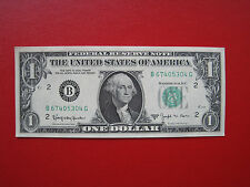 """1 US Dollar  1963 B  """"Federal Reserve Note"""" UNC"""