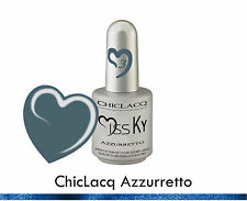 ChicLacq Azzurro Smalto Semipermanente UV GEL Soak-Off Nail Polish Unghie KyLua