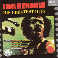 His Greatest Hits by Jimi Hendrix (CD, Legacy)