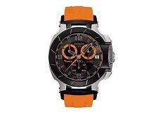 Men's T-Race Orange Rubber Band Men's Swiss Watch T0484172705704