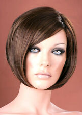 Forever Young Ladies Wispy Style Short Ash Brown Straight Fashion Style Full Wig