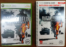 Xbox 360 Game - Battlefield: Bad Company 2 c/w Official Guide