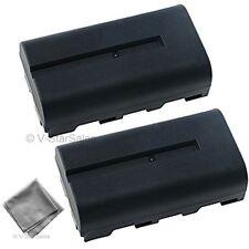 NP-F550 NPF550 Battery x2 Sony HDR-AX2000 HVR-Z1U HXR-NX5 GVD200 DV-D700 CCDSC55