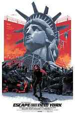 Escape from New York Wall Poster  30 in x 20 in ( Fast Shipping )