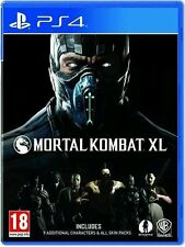 Brand New Mortal Kombat XL Video Game DVD (Sony PlayStation 4, 2016)
