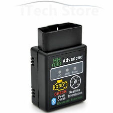 ELM327 HH OBDII Bluetooth CAN BUS OBD2 Auto Diagnosegeräte Android Smartphone PC
