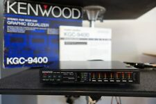 Vintage Kenwood KGC-9400 Graphic Equalizer Spectrum EQ Analyzer Rare Old School