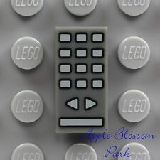 NEW Lego Minifig Gray TV REMOTE CONTROL 1x2 PRINTED TILE - Friends Telly Phone