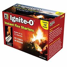 Ignite-O Instant Fire Starter [FS855-24] safe, quick and easy, clean, odorless..