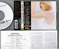 MADONNA Something To Remember JAPAN CD WPCR-555 w/OBI+INSERT 1st issue Free S&H