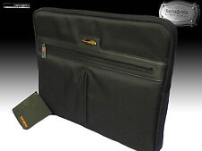 "SAMSONITE Executive LapTop Sleeve Case Leather Polyester BLACK LABEL OPTO 19"" 49"