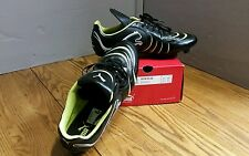 PUMA Mens PowerCat 4.10 R HG Size 13 cleats Black White Wild Lime 101918 02