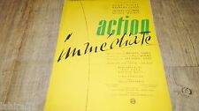 ACTION IMMEDIATE  frederic dard lino ventura scenario dossier presse cinema 1957