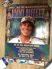 JIMMY BUFFETT MEET IN MARGARITAVILLE PROMO POSTER 18 X 24 VG CONDITION