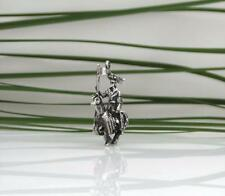 Vintage English Sterling Knight In Armour King Medieval Bracelet Charm 60's