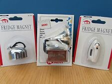 3 x Vintage Acme fridge magnets New