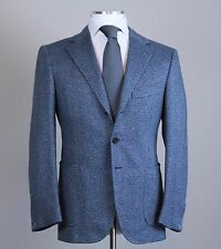 New Cesare Attolini Handmade 100% Cashmere Sportcoat Size 38 (48 EU)