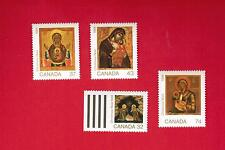1988  # 1222 to 1225 **  VFNH  - TIMBRES CANADA STAMPS   CHRISTMAS ISSUE
