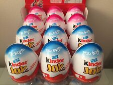 Kinder Joy with Surprise Eggs in Toy & Chocolate For 3 Boys & 3 Girls-6 x Eggs