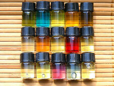 * 15 Qty SAMPLES MENS TRENDING DESIGNER FRAGRANCE OILS SCENTED BODY OIL GIFT SET