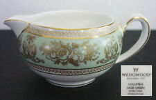 Wedgwood COLUMBIA Sage Green Creamer, New with UK Tags