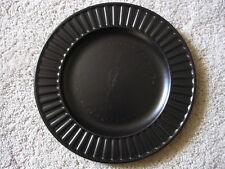 Rare Wedgwood Everyday Black & White Range - black dinner plate