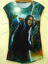 BLACK MILK Harry Potter Shirt Prof. Snape Attack Blackmilk Top 38 36 S Rickman
