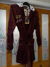Harry Potter Dressing Gown Robe size 14-16 (L) NEW PRIMARK SEEKER QUIDDITCH TEAM
