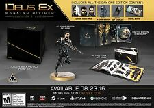 NEW Deus Ex: Mankind Divided -- Collector's Edition (Microsoft Xbox One, 2016)
