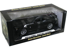 COLLECTIBLES 392 2013 13 FORD SHELBY GT500 GT 500 1/18 BLACK with CHROME Wheels