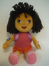 "TY BEANIE BABIES BUDDY~DORA THE EXPLORER~12""(YARN HAIR VERSION)~NEW~2011~MWMT"