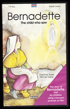 BERNADETTE - THE CHILD WHO SAW - VHS PAL (UK) VIDEO