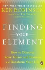FINDING YOUR ELEMENT [9780143125518] - LOU ARONICA KEN ROBINSON (PAPERBACK) NEW