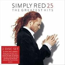 SIMPLY RED 25: The Greatest Hits MICK HUCKNALL 2CD set AS NEW, See Tracklist