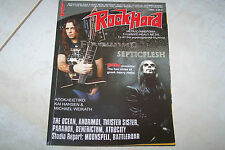 ROCK HARD MAG 3/2008 FIREWIND SEPTIC FLESH